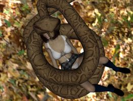 Another snake vore victim 2 by SnakePerils