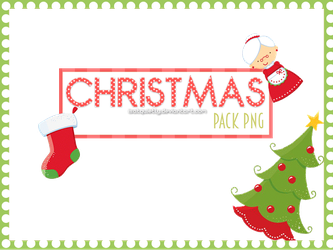 Christmas Pack PNG by ISatQuietly