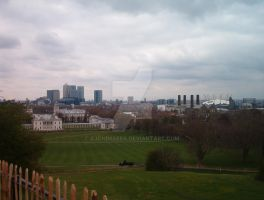 London Skyline by AJChimaera