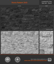 Stone Pattern 34.0 by Sed-rah-Stock
