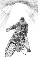 Biker Cover fully rendered by bookstoresue
