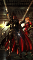 Captain Harlock by Aste17