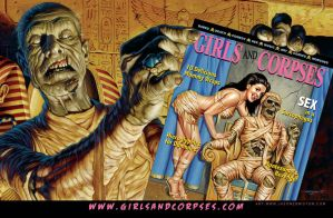 Girls and Corpses Ad by jasonedmiston