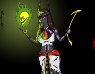 Nightshade Daughter of Anubis by Omegadrive6500