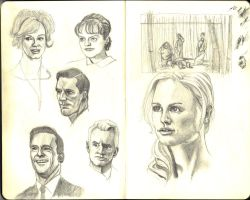 Some Mad Men and Sookie by JRSly