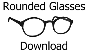 Rounded Glasses Download by MissingPixieSticks