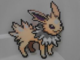 Pokemon: Perler Bead Jolteon by heatbish