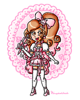 Cure Pink by ninpeachlover
