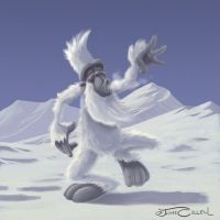 DANCING YETI by JaumeCullell