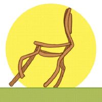 Galloping chair -animated by Leda456