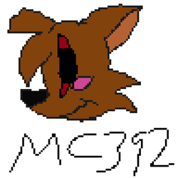 My Official 8-BIT Logo by Mickeycraft392
