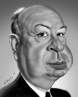 Alfred Hitchcock by adavis57