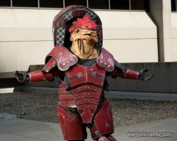 Wrex by proppedupcreations