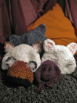 Even More Hatties Hats by EclecticCalico