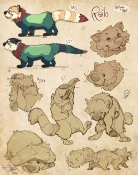 Reilo Sketchpage by colonel-strawberry