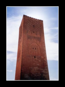 Tower of Hassan by emomamonsk