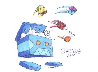 Igloo, the Portable Coolbox by CyberMaroon