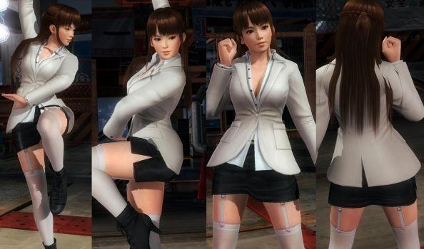 Leifang Office Miniskirt by funnybunny666