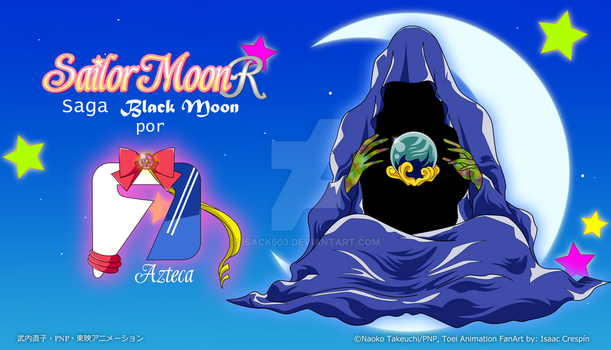 Sailor moon R A7 Saga Black Moon by Isack503