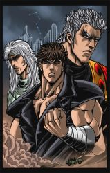 Fist of the North Star- colors by ErikVonLehmann