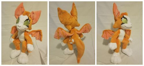 Wolfboy900 - FIDGET - Standard Anthro Plush by The-Plushatiers