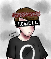 Flower crown Howell by GuiltyVicky