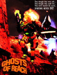 Ghosts of Reach: Spartans from Beyond the Grave by OrangeClover