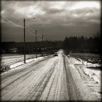 The road by StephanePellennec