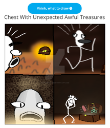 Chest With Unexpected Awful Treasures by dylrocks-95
