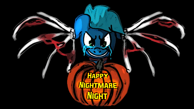 Happy Nightmare Night 2015 by stashine-nightfire