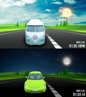 Road Trip FULL SCREEN for xwidget by Jimking