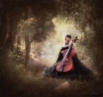 Music in the forest by Laura-Graph