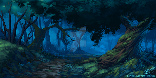 Forest Concept Study by breerothman