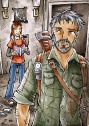 No pun intended - The Last of Us - ATC by Merinid-DE