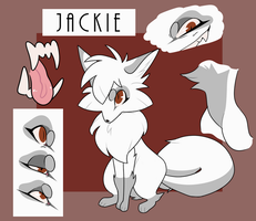 Jackie ref sheet 2018 by Pheuxie
