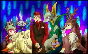 Hannibal - Pokemon Team Lecter by FuriarossaAndMimma