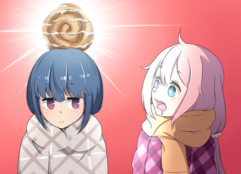 Yuru Camp Day Fan Art by yunyunmaru