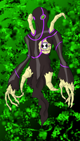 Bonefreak V2 Ben10 Alien by BLUE-F0X