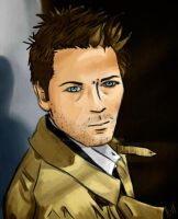Commission: Castiel by FullElven