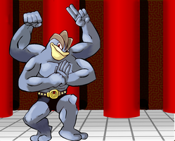 Machamp in the Dojo