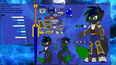 Meta Ignika The Panther-Wolf Reference Sheet (OLD)