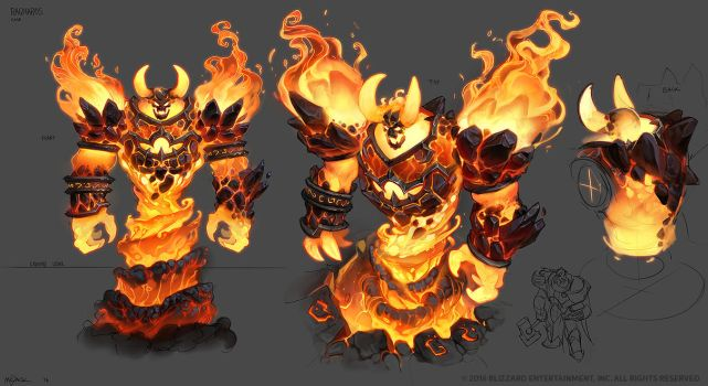 Ragnaros by Mr--Jack
