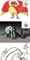 Pokemon Fusions by Almoyan