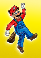 Weird Raccoon Mario by Erikku8