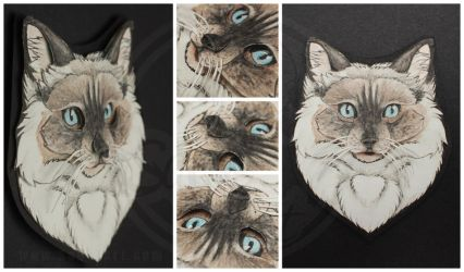 Commissions: 3D - Portrait - Theo by SaQe