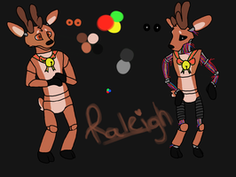 FNAF OC Raleigh Reindeer by Failed-w-Attempt