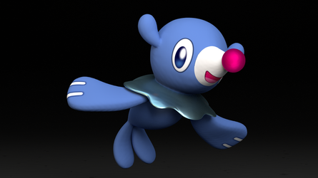 #728. Popplio by TheAdorableOshawott