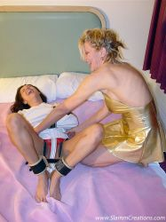 Francesca and Sharon Kane - Birthday Present 10 by slamm345