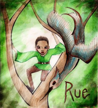 Rue- The Hunger Games by aspiring-x