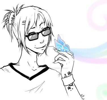 Butterfly Boy by LuckyXClover